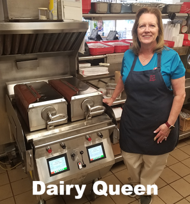 Restaurant Equipment Installed By Lane & McClain Distributors, Texas