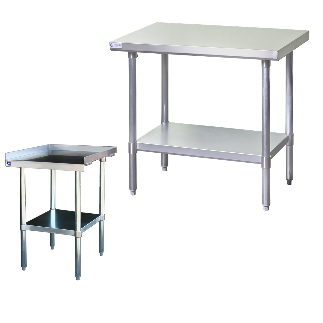 Blue Air Work Tables & Stands