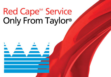 Taylor red cape service