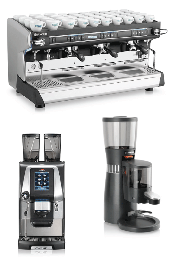 Commercial Espresso Machines by the Rancilio Group